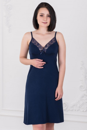 Жен. сорочка арт. 19-0023 Темно-синий р. 42 Шарлиз